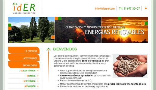 idER Ahorro Energético
